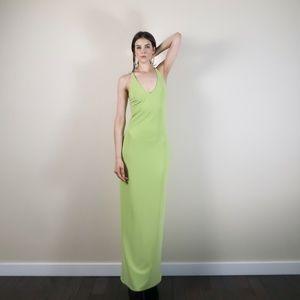 Vintage Y2K 2000s evening dress, by Gunne Sax